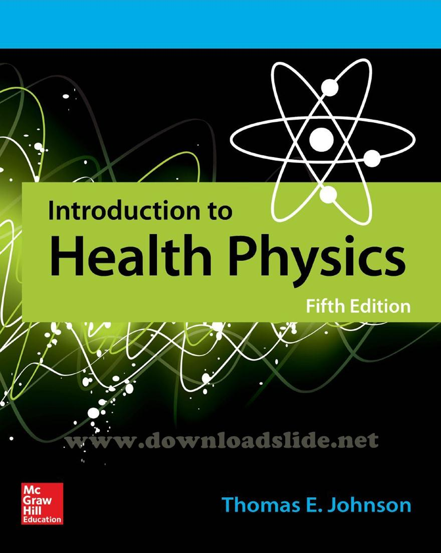 Ebook Introduction to Health Physics 5th Edition by Johnson. EBOOK / SOLUTION  MANUAL ...