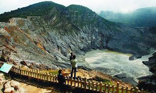 Gunung Tangkuban Perahu - Outbound Lembang Bandung