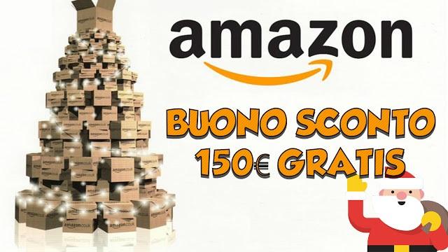 Buono regalo amazon da 150 gratis guida per riceverlo for Promozione buono regalo amazon