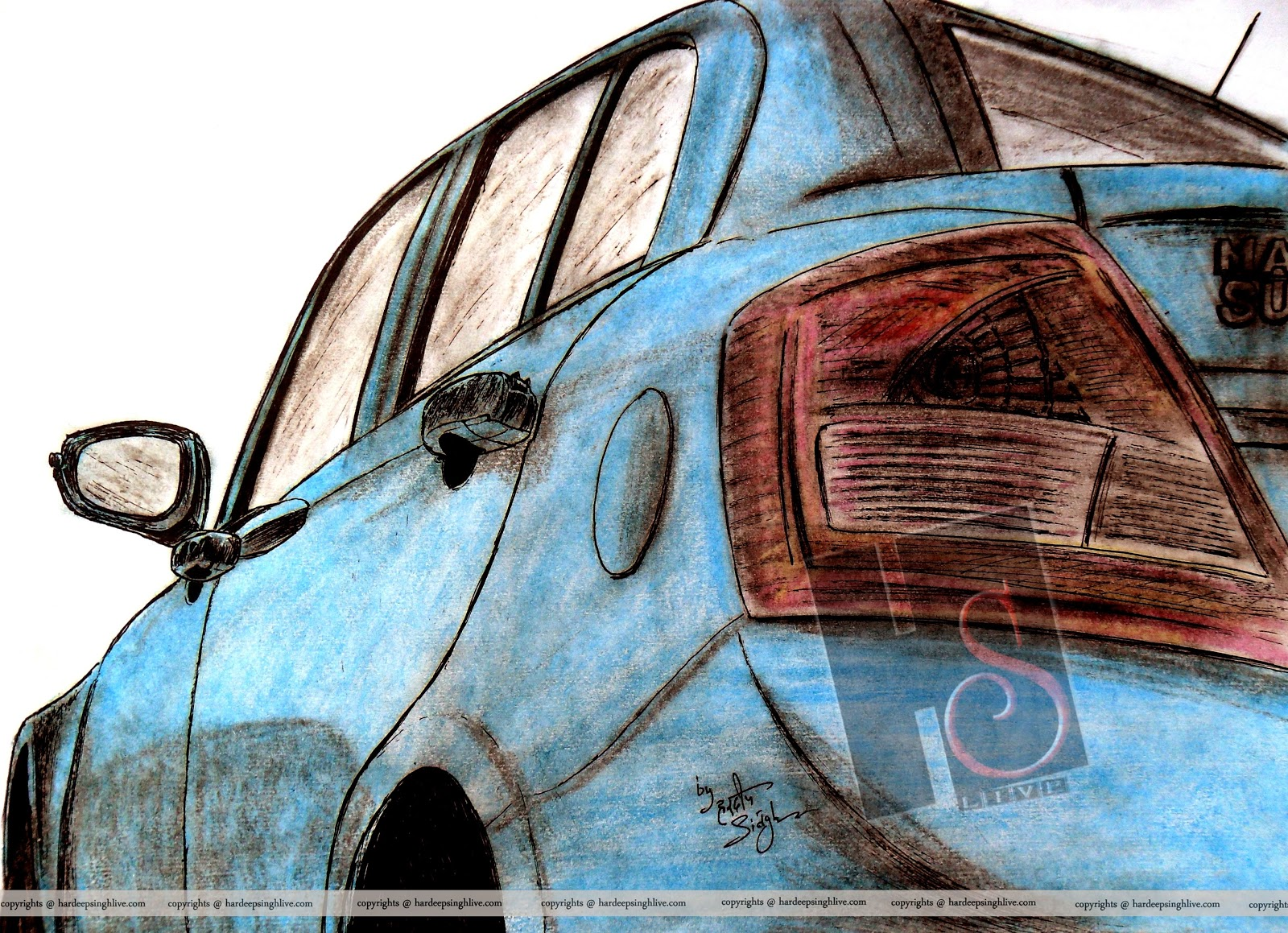 Art Of Hardeep Singh October 2012