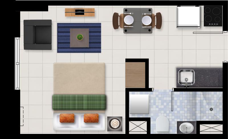 Ascentia Condominium Studio Unit