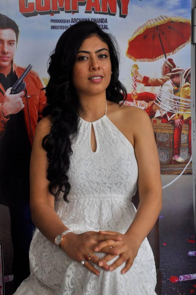 Anurita Jha At Baarat Company Interview Event Stills