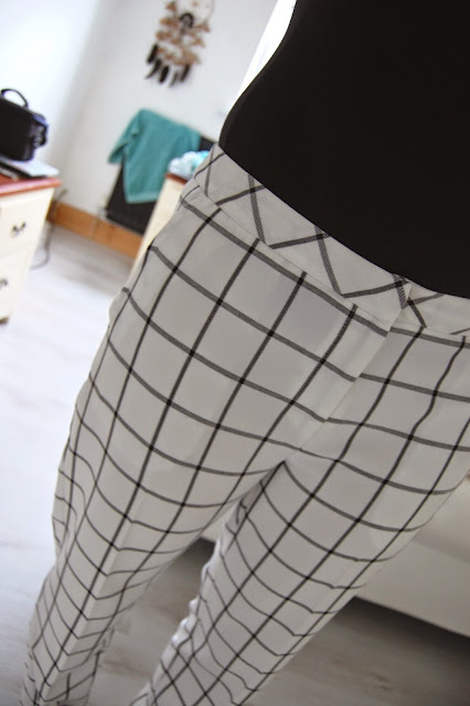 Primark check trousers