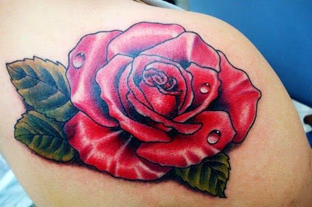 tattoo ideas rosa flor unica