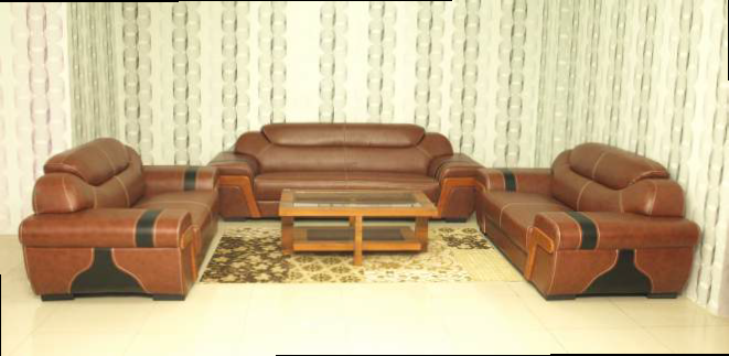 Orbit Leather Sofa (3+2+2)