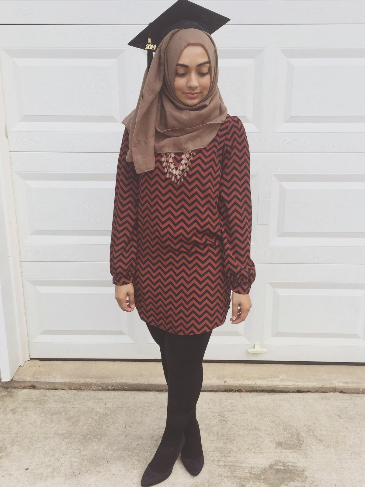 what to wear for graduation muslim