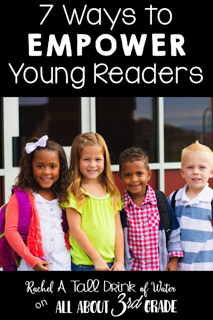 Teaching your students to love reading with 7 ways to empower young readers.