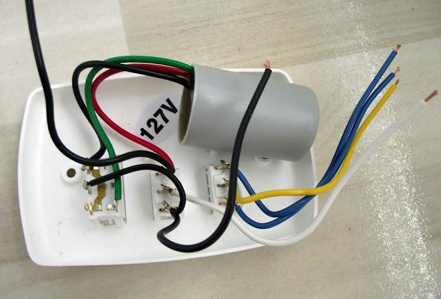 Capacitor de Ventilador de Teto