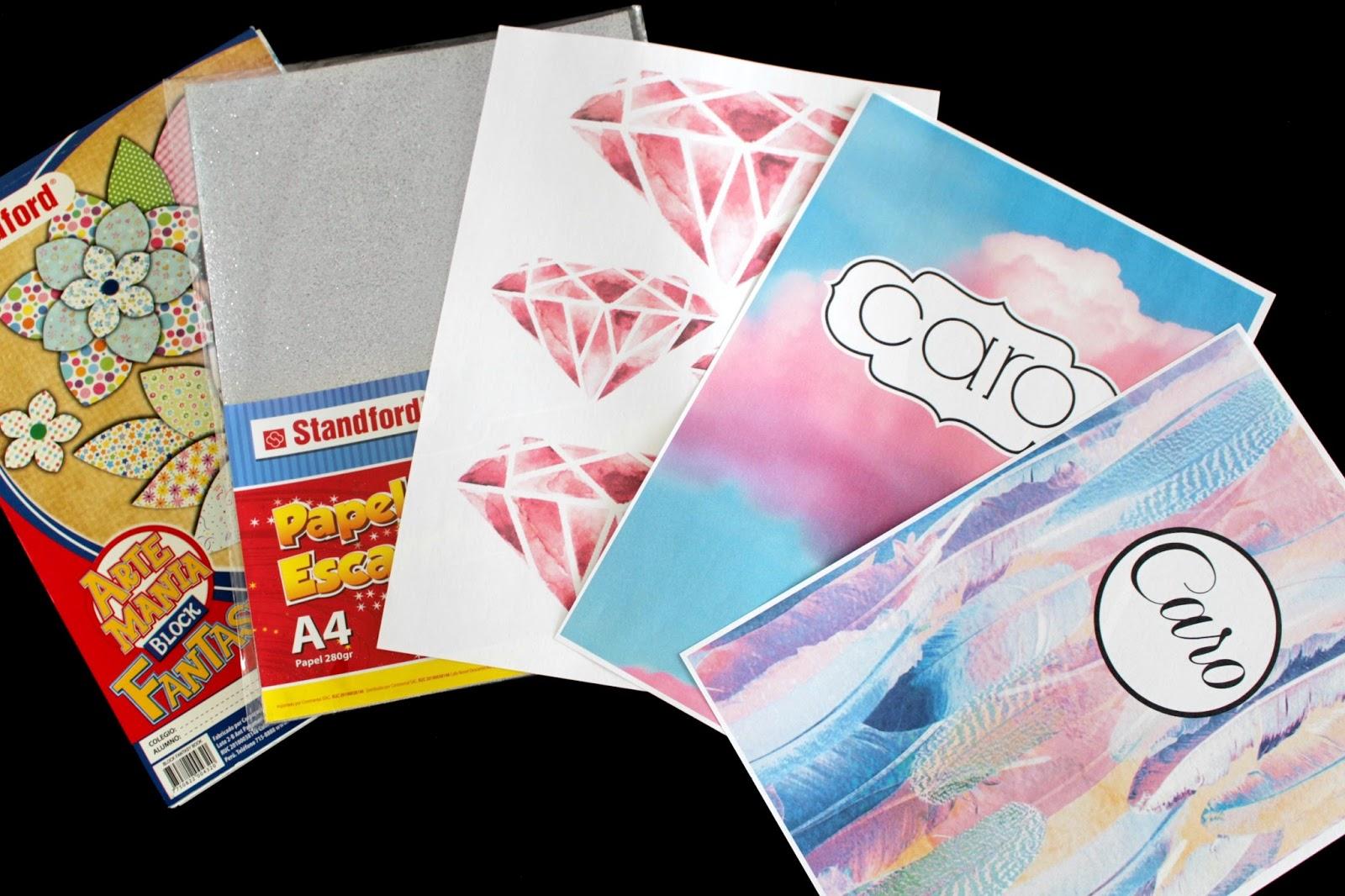 Fashaddicti como forrar tus cuadernos for El color en la decoracion