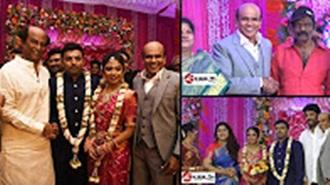 Celebs Attend The Actor Vagai Chandrasekar daughter Wedding Reception