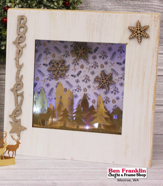 Ben Franklin Crafts and Frame Shop, Monroe, WA: DIY Pre-Lit \