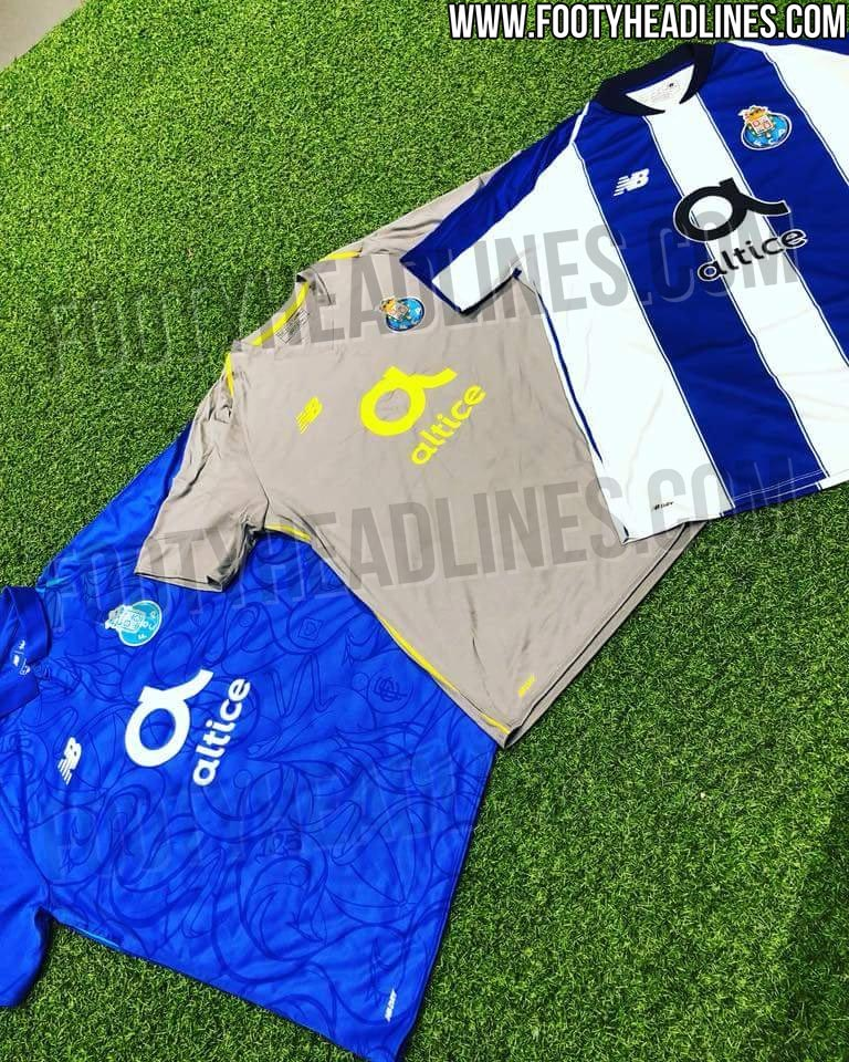 344635a12 The Porto New Balance 2018-19 jerseys come with the logo of  telecommunications company Altice on the front. It is not a new sponsor,  however (Last season's ...