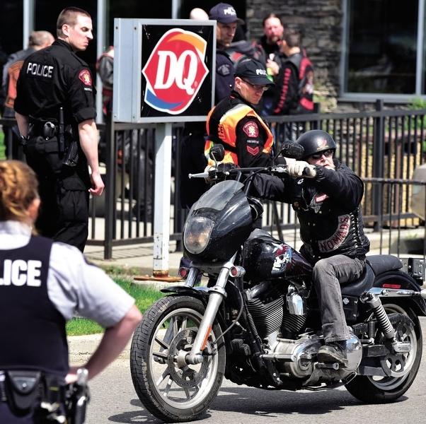 Biker Trash Network • Outlaw Biker News : Police Follow