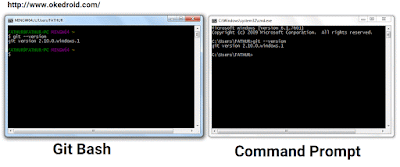 Git Bash dan Command Prompt