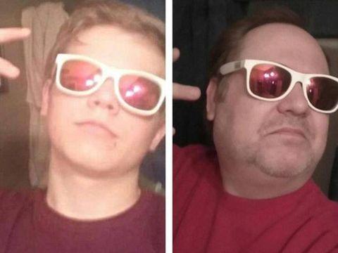 Ngakak ! Ayah Ini Punya Cara Unik Untuk Hentikan Anak Yang Gemar Selfie Dengan Gaya Seksi