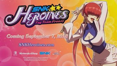 """Anunciada a Shermie como personaje jugable del """"SNK Heroines: Tag Team Frenzy"""""""