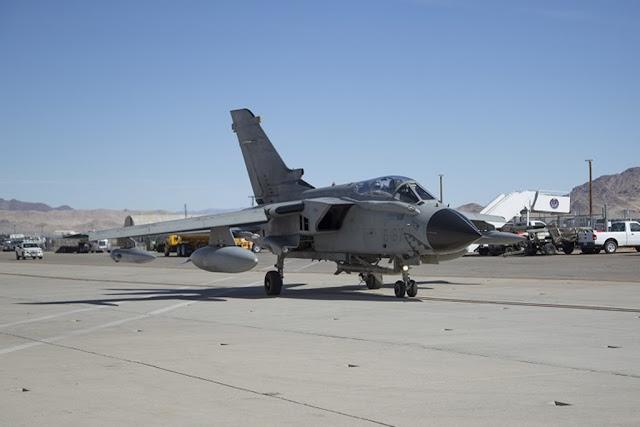Italian Tornado test AARGM missile