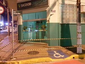 Bando armado explode três bancos e uma farmácia em Capivari