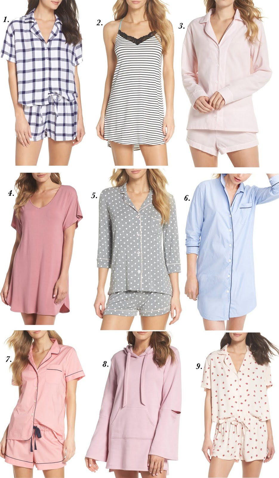 2018 Nordstrom Anniversary Sale: Pajamas - Something Delightful Blog