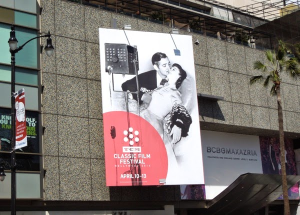 TCM Classic Film Festival 2014 Gone with the Wind billboard