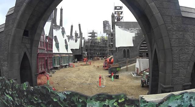 Sobre a Hogwarts na Universal Studios Hollywood
