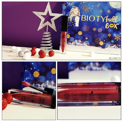 "BIOTYfull Box ""La Festive"" encre lèvres dwtn"