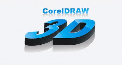 belajar coreldraw, cara membuat tulisan 3D mudah di coreldraw, membuat tulisan keren, teks efek 3d coreldraw, desain tulisan, cara membuat efek tulisan di corel