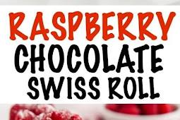 Raspberry Chocolate Swiss Roll Recipe