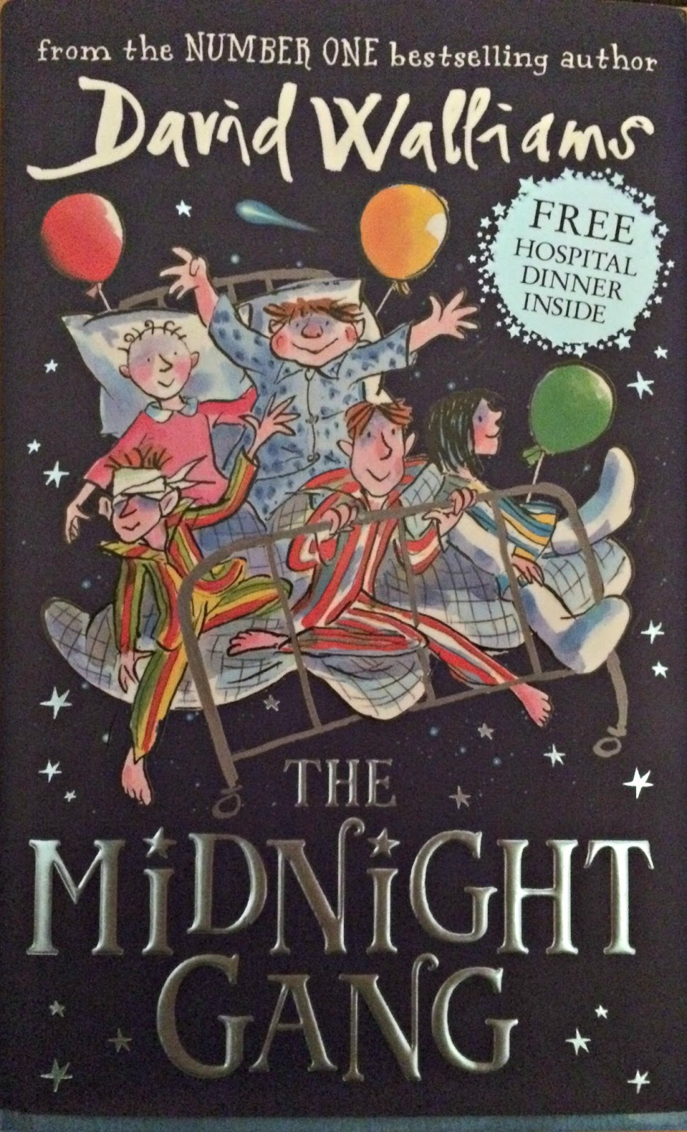 David Walliams' The Midnight Gang Front Cover