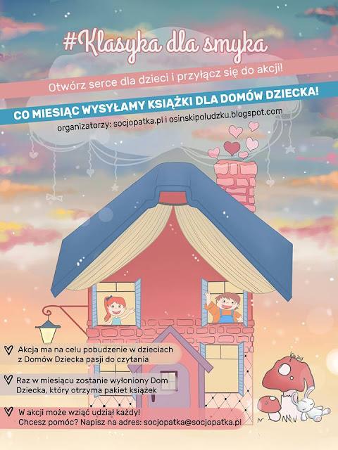 #Klasyka Dla Smyka, czyli książki dla Domów Dziecka