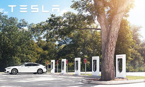 Tesla Supercharger Squamish, BC