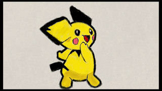 pichu pokemon fan art