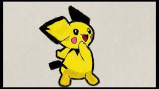 pichu pokemon fan art
