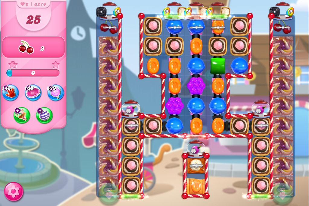 Candy Crush Saga level 6274