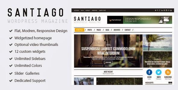 Premium Responsive WordPress Magazine Theme