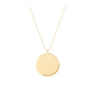 collier médaille bombée l'atelier d'Amaya