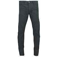 Jack & Jones Men's Erik Pete Chinos - Grey