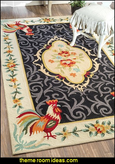 La Vie Parisienne Rug french country decor