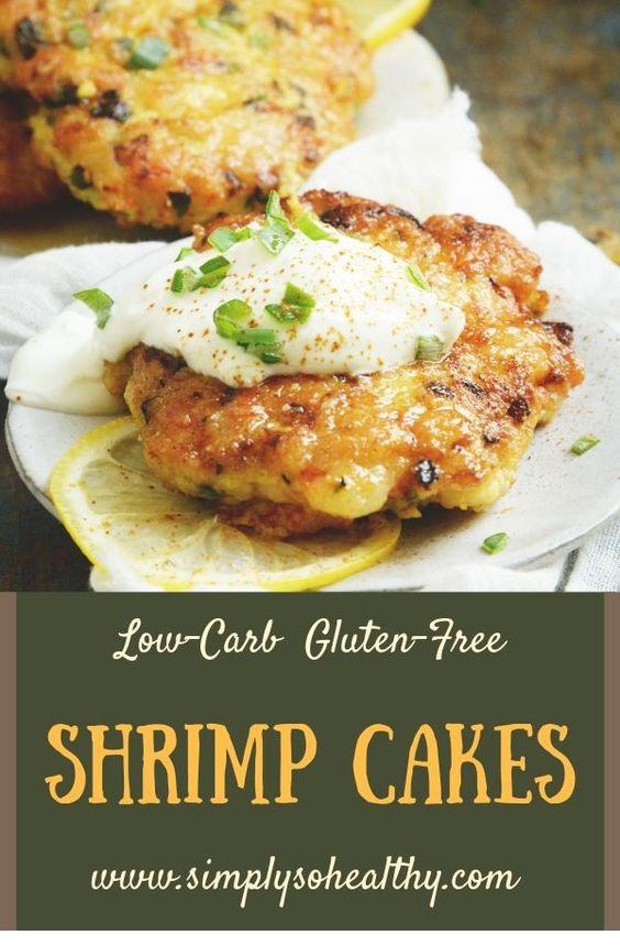 Shrimp Cakes Recipe Low-Carb and Keto-Friendly