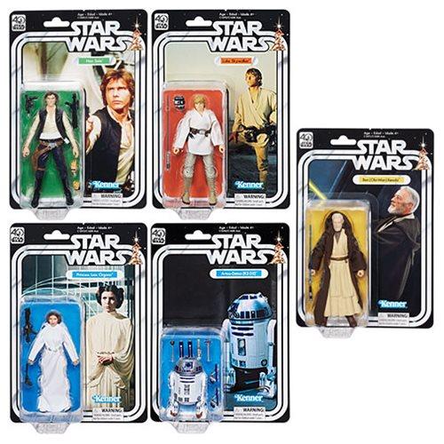 Star Wars también tendrá cabida con el relanzamiento de la colección Vintage, que permitirá a los fans rememorar el legado de la saga.