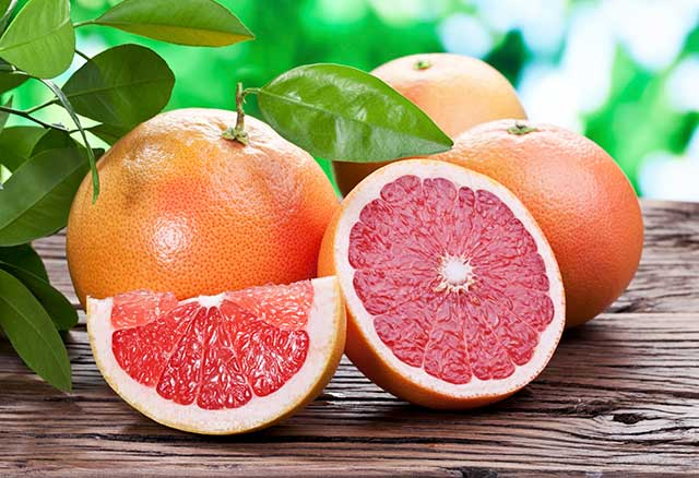 Health and Wellness With Grapefruit