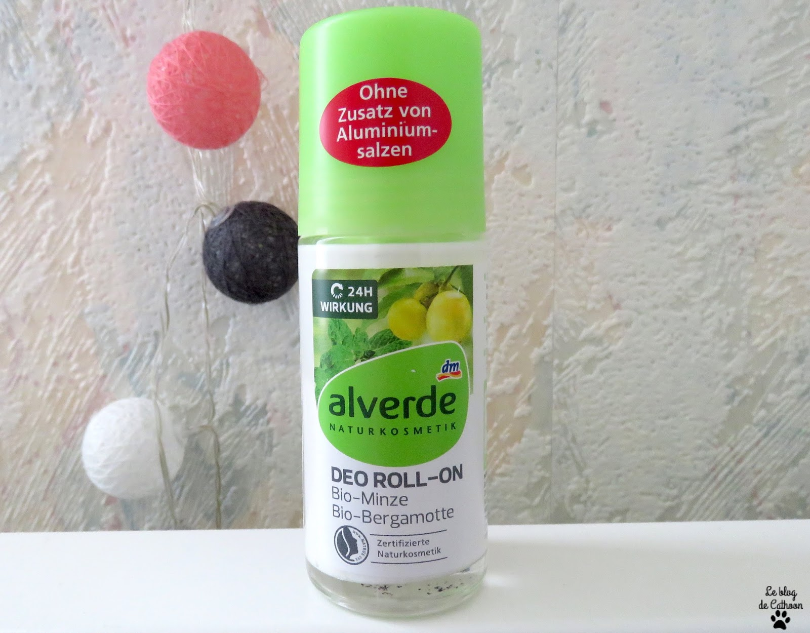 Déo Roll-on - Alverde (Allemagne)