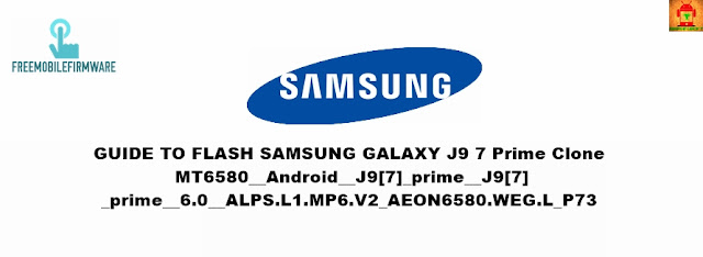 How To Flash Samsung Galaxy J9 7 Prime Clone mt6580 Using SP Flashtool