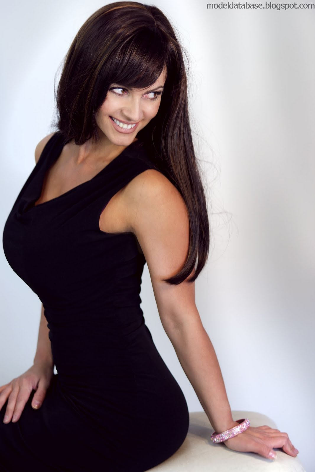denise milani in a dress - photo #19