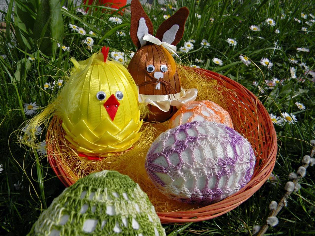 rękodzieło, hand made, jajka, zajączek, kurczak