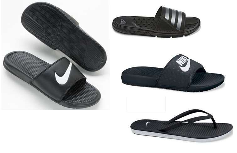 online retailer fbe0f 7882c Men's and Women's Nike and Adidas Sandal Sale: Women's Nike ...