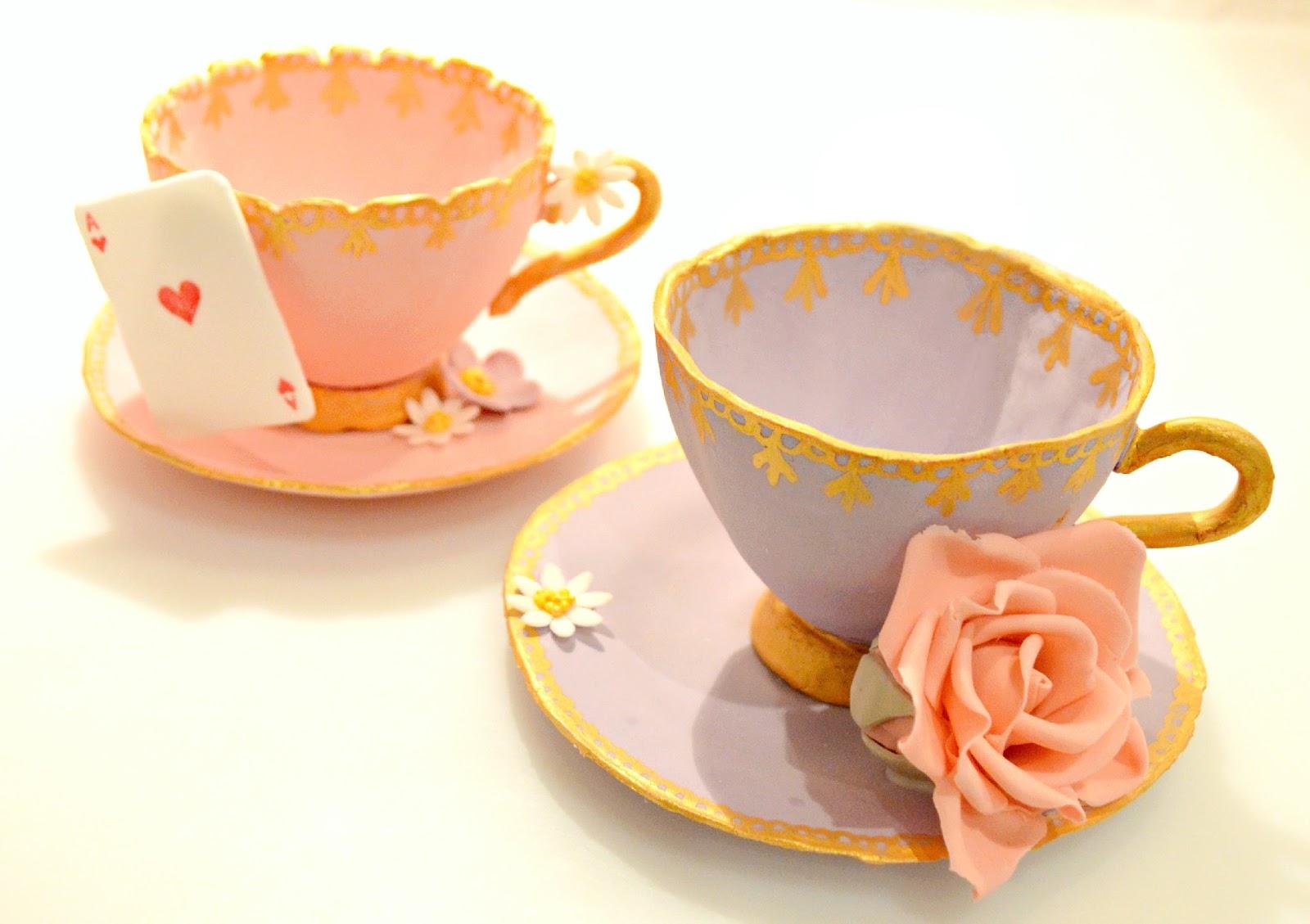 How To Make A Tea Cake Stand