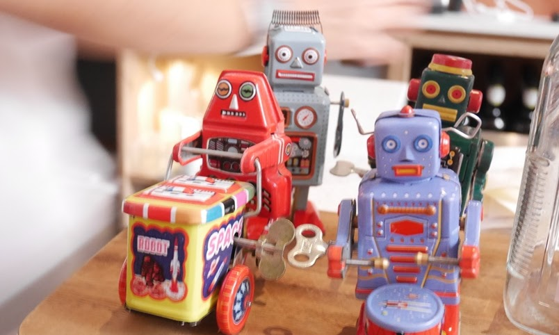 Free the Robot Coffee Cafe: Review