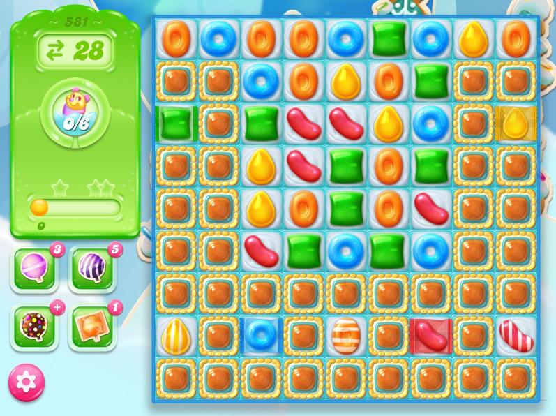 Candy Crush Jelly Saga level 581