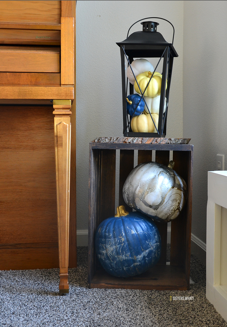 pumpkin decorating ideas to use for inside Halloween home decor